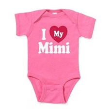 I Love My Mimi Baby Bodysuit