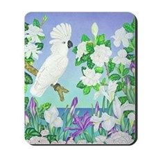 Cockatoo Iris Mousepad
