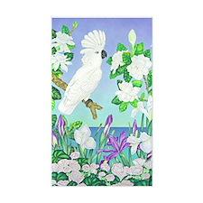 Cockatoo Iris Decal