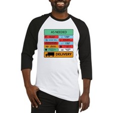 Auxilliary Label Collage Baseball Jersey