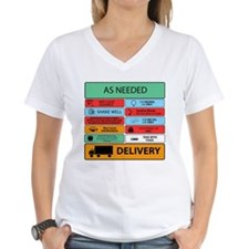 Auxilliary Label Collage Shirt
