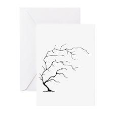 winter tree Greeting Cards (Pk of 10)