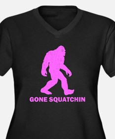 Gone Squatchin Plus Size T-Shirt