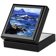 Guy Rose - Off Mission Point Keepsake Box