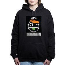 art GEEK Women's Hooded Sweatshirt