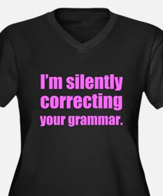 Correcting Your Grammar Plus Size T-Shirt