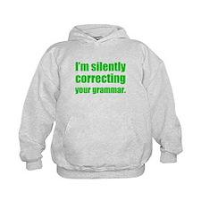 Correcting Your Grammar Hoodie