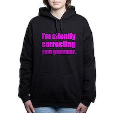 Correcting Your Grammar Women's Hooded Sweatshirt