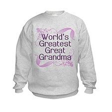 World's Greatest Great Grandma Sweatshirt