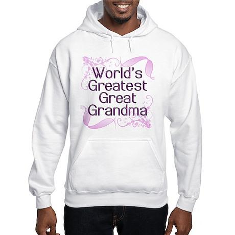 World's Greatest Great Grandma Hooded Sweatshirt