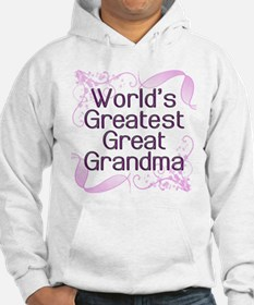 World's Greatest Great Grandma Hoodie