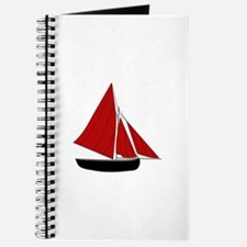 Red Sail Boat Journal