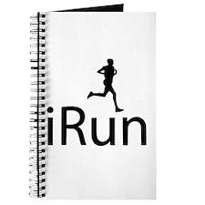iRun Man Black Journal