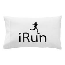 iRun Man Black Pillow Case