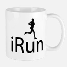 iRun Man Black Mug