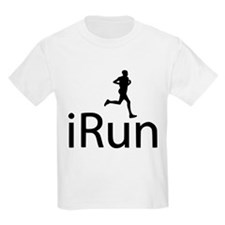iRun Man Black T-Shirt