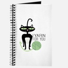 I Yarn For You Journal