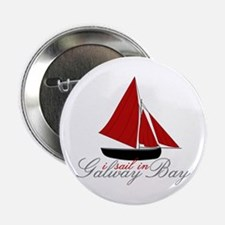 "Galway Bay 2.25"" Button"