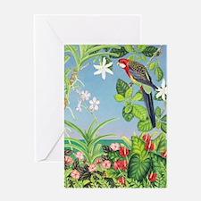 Eastern Rosella Greeting Card