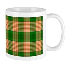 Track and Field Plaid Mug