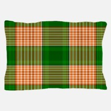 Track and Field Plaid Pillow Case