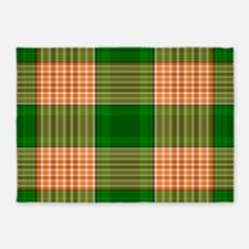 Track and Field Plaid 5'x7'Area Rug