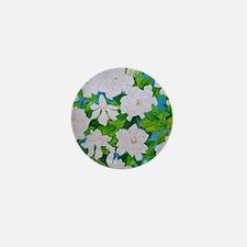 Gardenias Mini Button