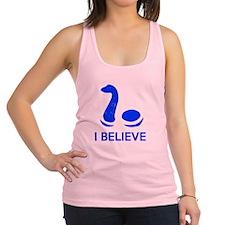 I Believe (in Nessie) Racerback Tank Top