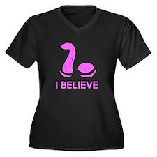 I Believe (in Nessie) Plus Size T-Shirt