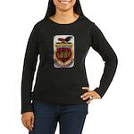 USS SARATOGA Women's Long Sleeve Dark T-Shirt