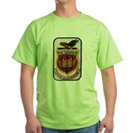 USS SARATOGA Green T-Shirt