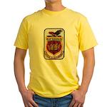 USS SARATOGA Yellow T-Shirt