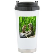 Two Chipmunks Travel Mug