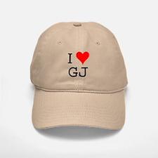 I Love GJ Baseball Baseball Cap