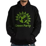 Green party Hooded Sweatshirts