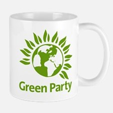 The Green Party Mug Mugs