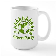 Green Party 2015 Coffee MugMugs