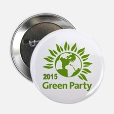 """Green Party 2015 2.25"""" Button"""