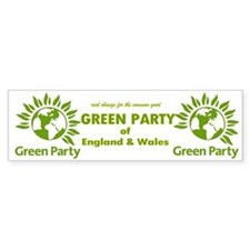 The Green Party Bumper Sticker