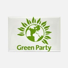 The Green Party Rectangle Magnet Magnets