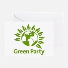 The Green Party Greeting Cards (Pk of 10)