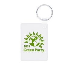 Green Party 2015 Keychains