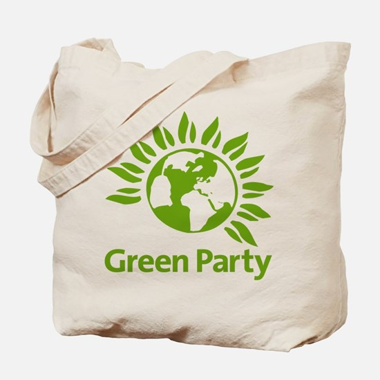 The Green Party Tote Bag