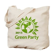 Green Party 2015 Tote Bag