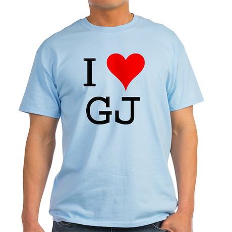 I Love GJ Light T-Shirt