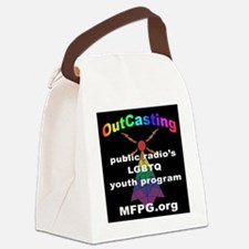 Public radio Canvas Lunch Bag