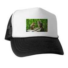 Two Chipmunks Trucker Hat