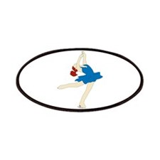 Ice Skate Spin Patches