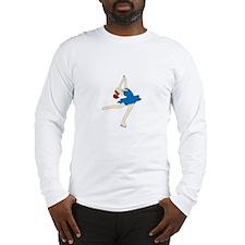 Ice Skate Spin Long Sleeve T-Shirt