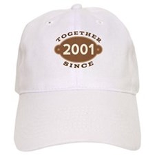 2001 Wedding Anniversary Cap